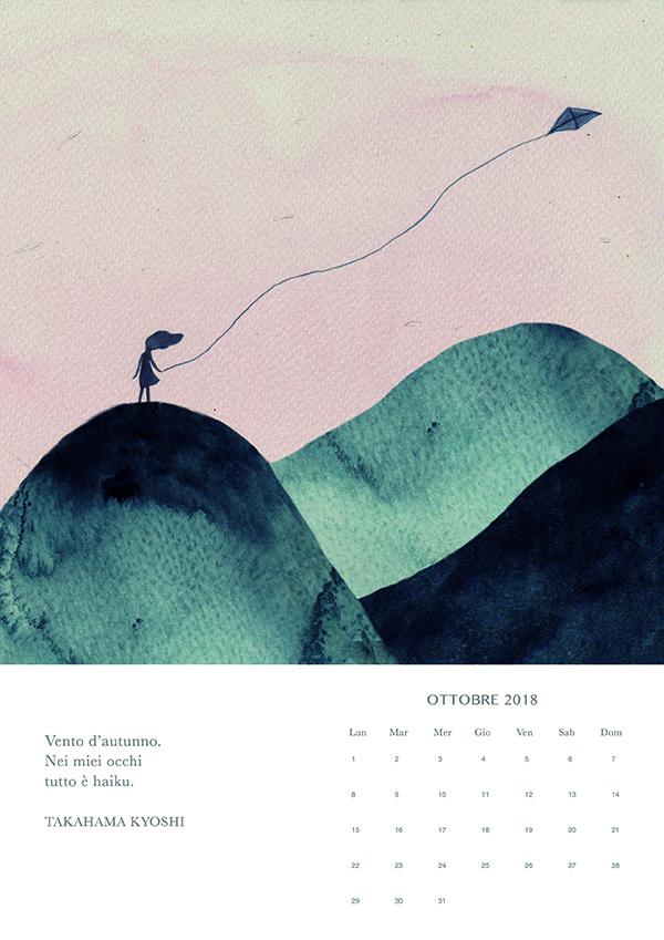 ottobre, Haiku calendar