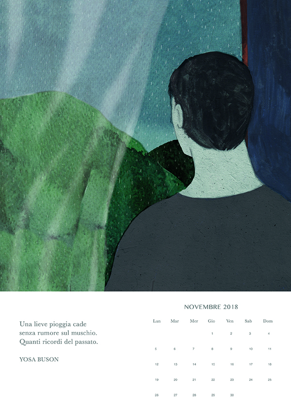 novembre, Haiku calendar