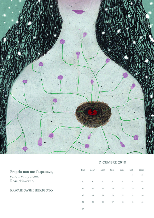 dicembre, Haiku calendar