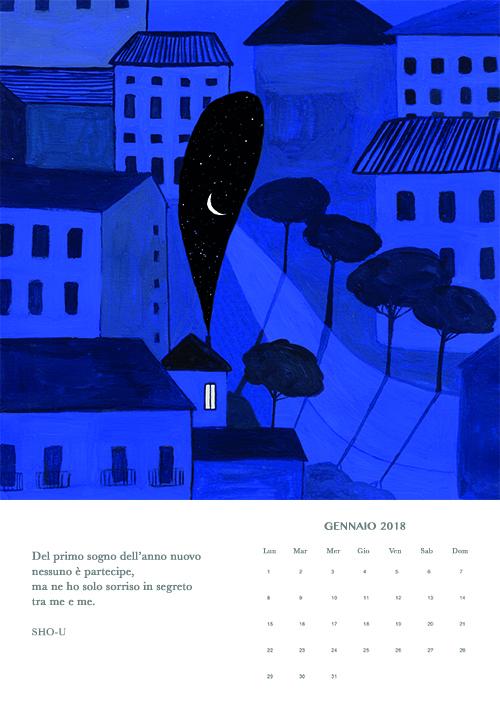 gennaio, Haiku calendar