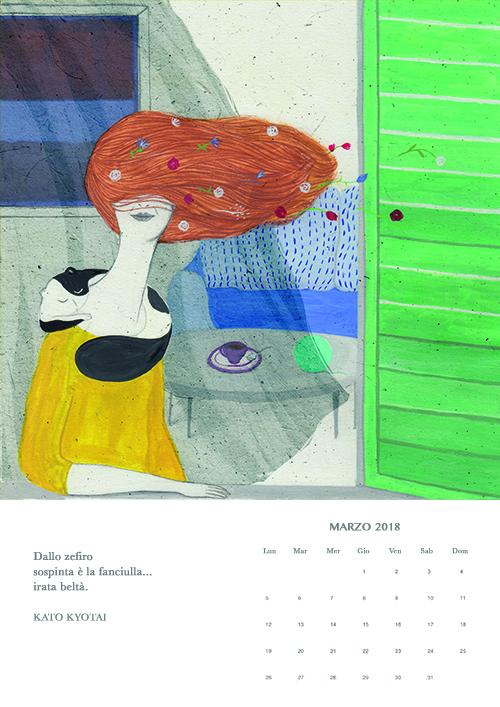 marzo, Haiku calendar