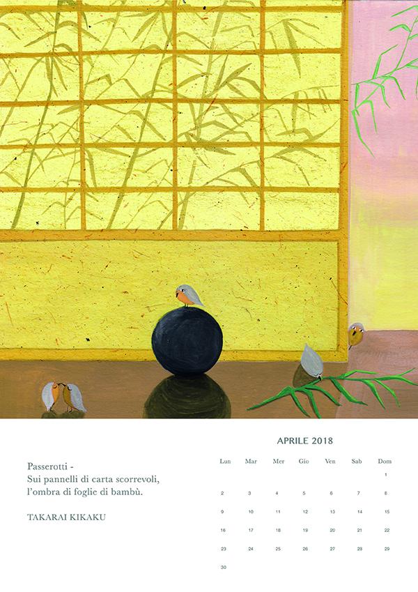 aprile, Haiku calendar