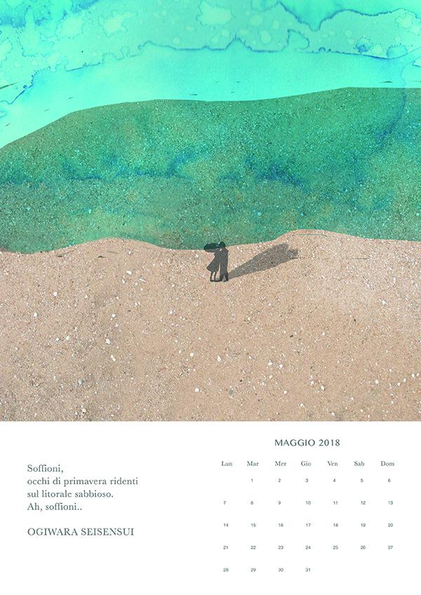 maggio, Haiku calendar