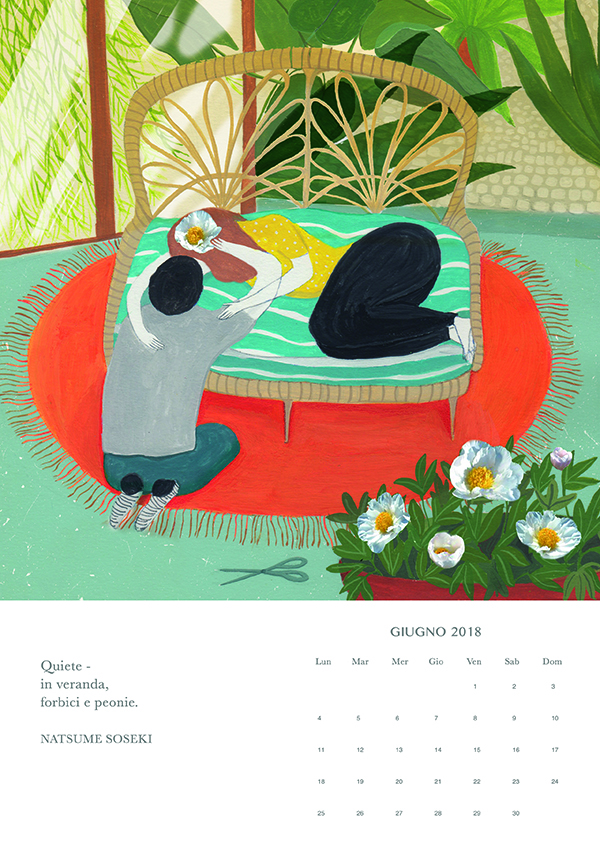 giugno, Haiku calendar
