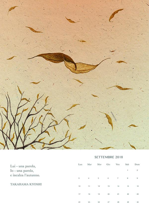 settembre, Haiku calendar
